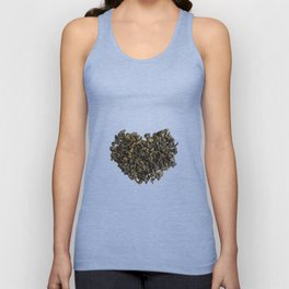 Dried and curled leaves of Oolong Unisex Tank Top