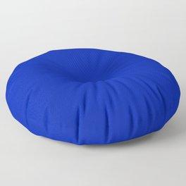 Blue (Pantone) - solid color Floor Pillow