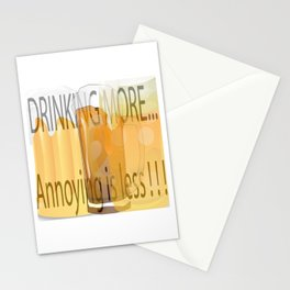 """Drink More"" Stationery Cards"