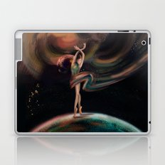 The dancing universe Laptop & iPad Skin