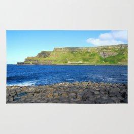 Gigant's Causeway. Antrim Coast. Northern Ireland Rug
