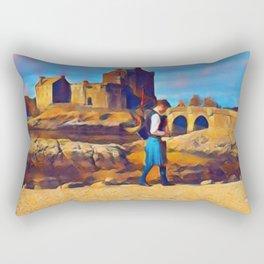 I Dream of Scotland Rectangular Pillow