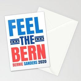 FEEL THE BERN BERNIE SANDERS 2020 Stationery Cards