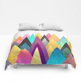 Dreamy Peaks Comforters