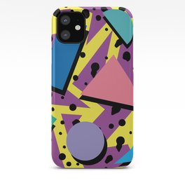 Memphis Pattern 21 - 80s / 90s Retro iPhone Case
