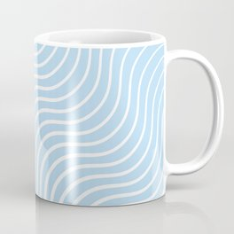 Whiskers Light Blue & White #285 Coffee Mug