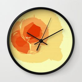 Moon Lamp Wall Clock