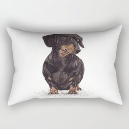 Dog-Dachshund Rectangular Pillow