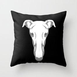 Greyhound Team Snooter Throw Pillow