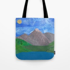 Swiss Mountain Tote Bag