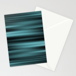 Abstract Rays - Warps design Stationery Cards