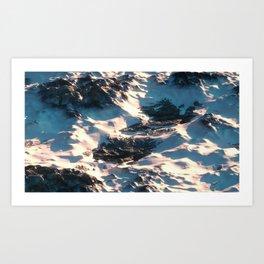 Day 1019 /// Something like this Art Print