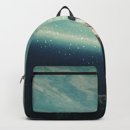 The Earth was crying and We were there Backpack