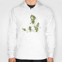 murray Hoodies featuring Andy Murray Wimbledon Tennis by DanielBergerDesign