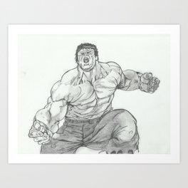 Hulk Smash. Art Print