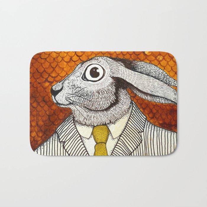 El conejo careta Bath Mat