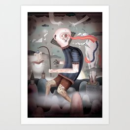 le cyclope Art Print