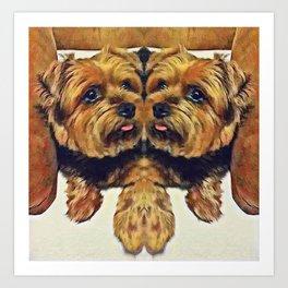 Rosco Art Print