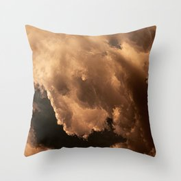 The Clouds #1 Throw Pillow