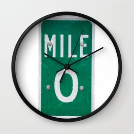 Florida Keys Wall Clock