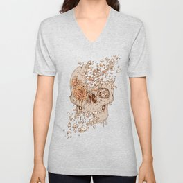 Disintegrate (A Violent Decay):  The Fragile Intensity of Existence Unisex V-Neck