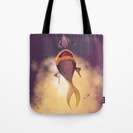 DYLAN & THE GIRL Tote Bag