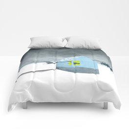 Arctic birds of a feather Comforters