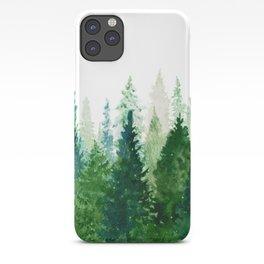 Pine Trees 2 iPhone Case