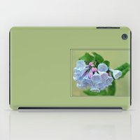 virginia iPad Cases featuring Virginia Bluebells by JoLynne