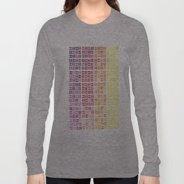 Pencil Mosaic #1 Long Sleeve T-shirt