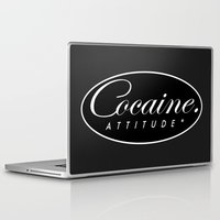 cocaine Laptop & iPad Skins featuring Cocaine Attitude by Trash Apparel