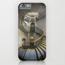Once An Abandoned Staircase iPhone Case