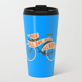 Fixie bike - Ride all day, ride all night Travel Mug