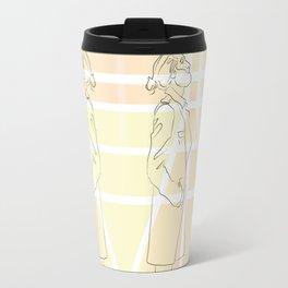 Yellow Thoughts Travel Mug