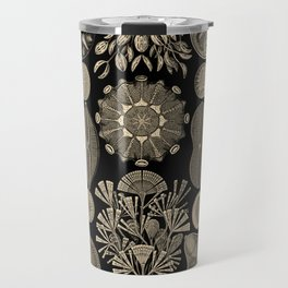 """""""Diatomea"""" from """"Art Forms of Nature"""" by Ernst Haeckel Travel Mug"""