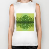 leaf Biker Tanks featuring Leaf by Cs025