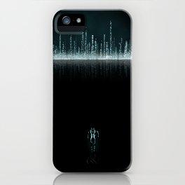 TRON CITY iPhone Case