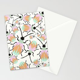 A herd of beetles Stationery Cards