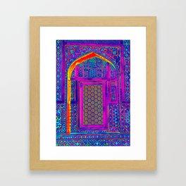 Pop Window Framed Art Print