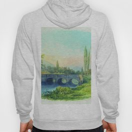 Sevastopol Aqueduct In The Gully Ushakovskaya 1850 By Lev Lagorio   Reproduction   Russian Romantici Hoody