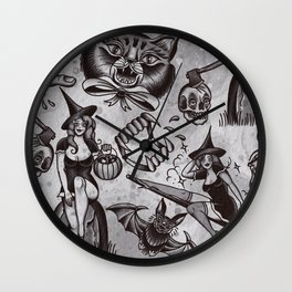 Spooky Season Wall Clock