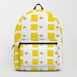 Flag of vatican -Vaticano,vaticana,pontifical,pope,catholic. Backpack