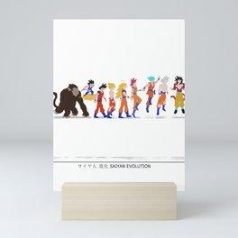 Sayan evolution Mini Art Print