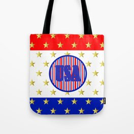 USA Stars And Stripes - United States Tote Bag