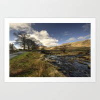 cassia beck Art Prints featuring Cockley Beck  by Rob Hawkins Photography