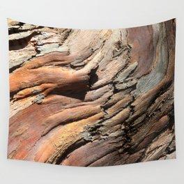 Eucalyptus tree bark texture Wall Tapestry