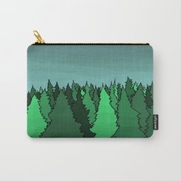 Forrest Under the Stars Carry-All Pouch