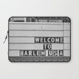 Welcome to Harlem Laptop Sleeve