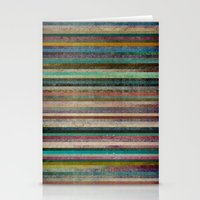 striped Stationery Cards featuring Striped by Sharon Johnstone