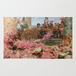 The Roses Of Heliogabalus By Sir Lawrence Alma Rug